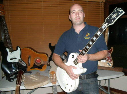 me with a white gibson