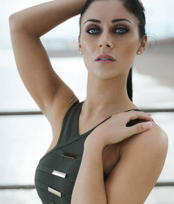 Cally Jane Beech from ITVs Love Island Hair & Make-up by Alison Martin, Pho