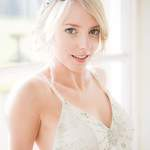 Bridal hair and make-up by Alison Clegg