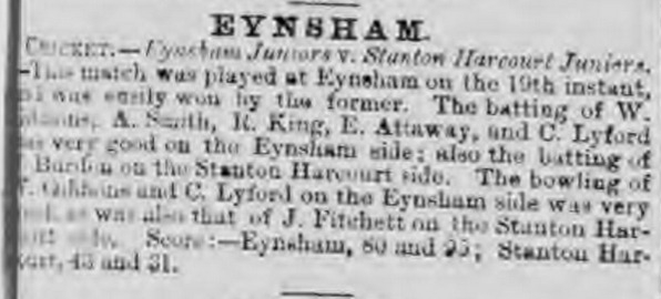 eynsham youth september 71