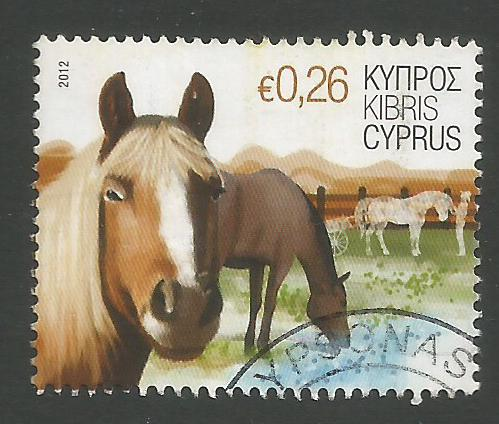 Cyprus Stamps SG 1266 2012 26c Horse - USED (k119)