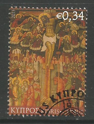 Cyprus Stamps SG 1295 2013 34c - USED (k124)