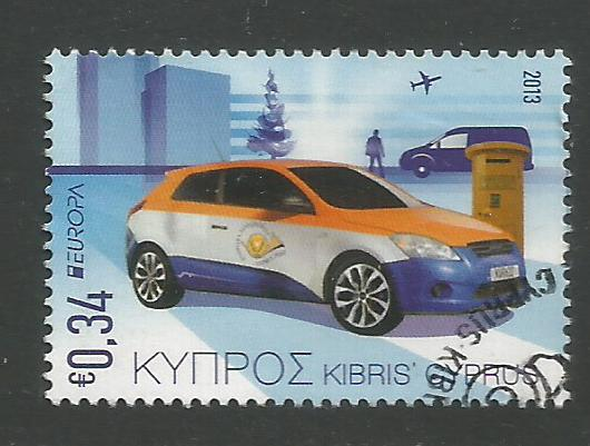 Cyprus Stamps SG 1297 2013 34c - USED (k127)