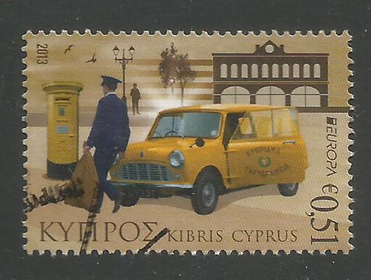 Cyprus Stamps SG 1298 2013 51c - USED (k128)
