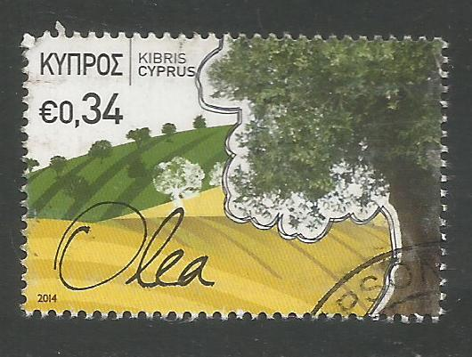 Cyprus Stamps SG 1312 2014 34c Europa - USED (k129)