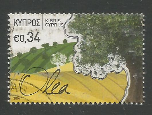 Cyprus Stamps SG 1312 2014 34c Europa - USED (k130)