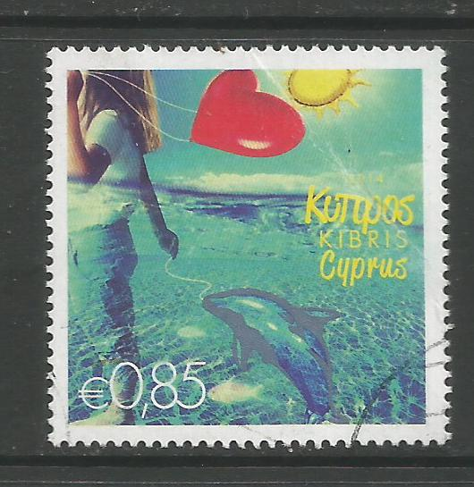 Cyprus Stamps SG 1317 2014 85c - USED (k132)
