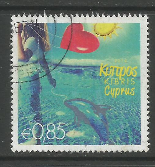Cyprus Stamps SG 1317 2014 85c - USED (k133)