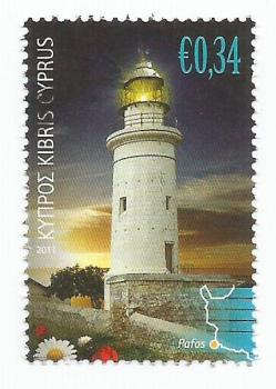 Cyprus Stamps SG 1248 2011 34c - USED (k150)