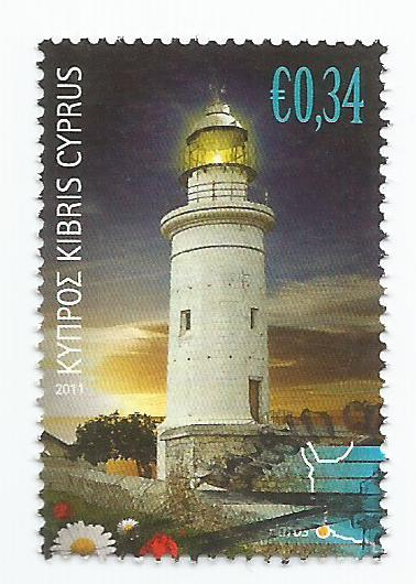 Cyprus Stamps SG 1248 2011 34c - USED (k151)