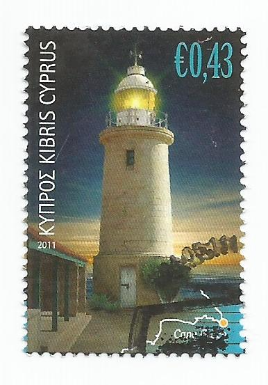 Cyprus Stamps SG 1249 2011 43c - USED (k152)
