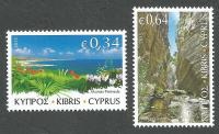 Cyprus Stamps SG 2015 (g) The Beauty of Akamas - MINT