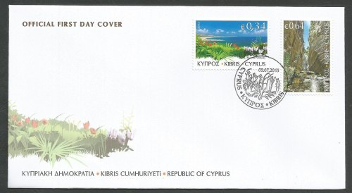 Cyprus Stamps SG 2015 (g) The Beauty of Akamas - Official FDC