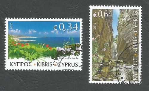 Cyprus Stamps SG 2015 (g) The Beauty of Akamas - CTO USED