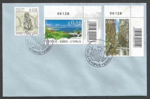 Cyprus Stamps SG 2015 (g) The Beauty of Akamas - Control numbers Unofficial