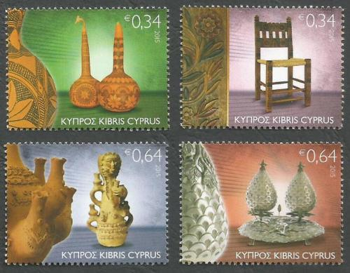 Cyprus Stamps SG 2015 (I) Traditional Cyprus Folk Art - MINT