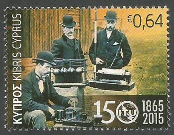 Cyprus Stamps SG 1382 2015 150 Years of the International Telecommunications Union (ITU) - MINT