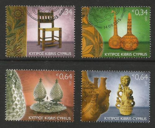 Cyprus Stamps SG 2015 (I) Traditional Cyprus Folk Art - USED (k213)