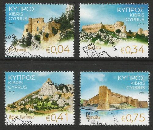 Cyprus Stamps SG 2015 (J) Castles of Cyprus - USED (k215)