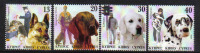 Cyprus Stamps SG 1098-1101 2005 Dogs in a mans life - MINT