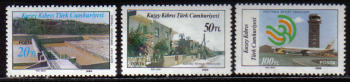 North Cyprus Stamps SG 197-99 1986 Modern Development 1st Series - MINT