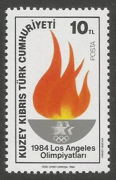 North Cyprus Stamps SG 150 1984 10TL - MINT