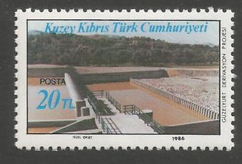 North Cyprus Stamps SG 197 1986 20TL - MINT
