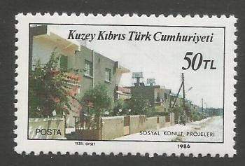 North Cyprus Stamps SG 198 1986 50TL - MINT