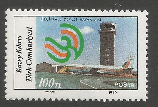 North Cyprus Stamps SG 199 1986 100TL - MINT