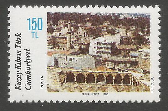 North Cyprus Stamps SG 230 1988 150TL - MINT