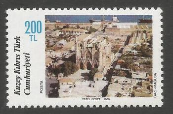 North Cyprus Stamps SG 231 1988 200TL - MINT