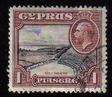 Cyprus Stamps SG 136 1934 1 Piastre - USED (c550)