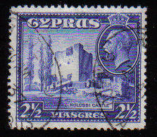 Cyprus Stamps SG 138 1934 2 1/2 Piastres - USED (c554)