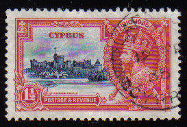 Cyprus Stamps SG 145 1935 1 1/2 Piastres - USED (c523)