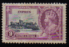 Cyprus Stamps SG 147 1935 9 Piastres - USED (c525)