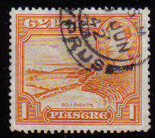 Cyprus Stamps SG 154 1938 KGVI  1 Piastre - USED (c535)