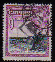 Cyprus Stamps SG 159 1938 KGVI 9 Piastres - USED (c518)
