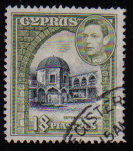 Cyprus Stamps SG 160 1938 KGVI 18 Piastres - USED (c582)