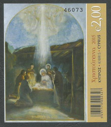 Cyprus Stamps SG 2015 (L) Christmas - Mini Sheet MINT