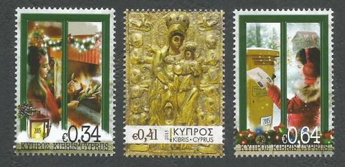 Cyprus Stamps SG 2015 (L) Christmas - MINT