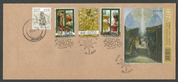 Cyprus Stamps SG 2015 (L) Christmas - Unofficial FDC (k266)
