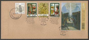 Cyprus Stamps SG 2015 (L) Christmas - Unofficial FDC (k267)