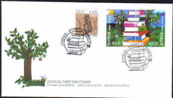 Cyprus Stamps SG 1219-20 2010 Europa Childrens books - Unofficial FDC (c673-2)