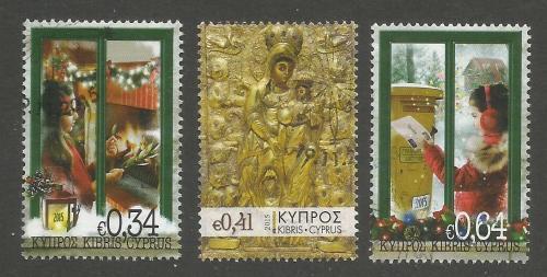 Cyprus Stamps SG 2015 (L) Christmas - USED (k284)