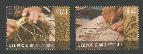 Cyprus Stamps SG 2016 (a) Traditional Cypriot Popular Crafts - USED (k300)