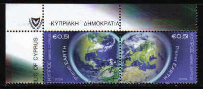 Cyprus Stamps SG 1186-87 2009 Planet Earth - USED (a877)