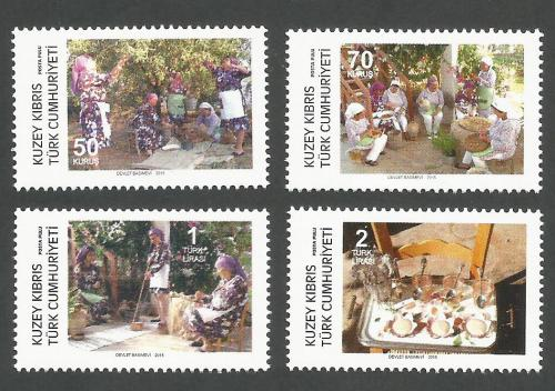 North Cyprus Stamps SG 2015 (h) Traditional production - MINT