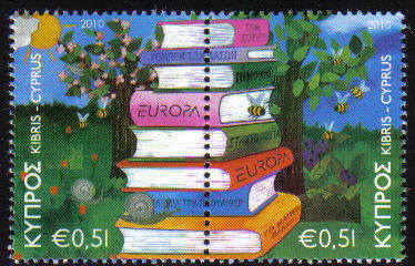 Cyprus Stamps SG 1219-20 2010 Europa Childrens books - MINT