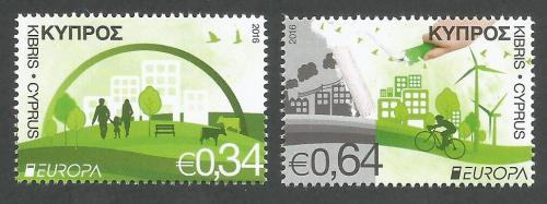 Cyprus Stamps SG 2016 (c) Europa Think Green - MINT