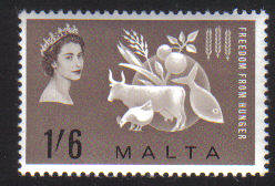 Malta Stamps SG 0311 1963 Freedom from Hunger - MINT